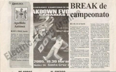 BDE Canarias 2005